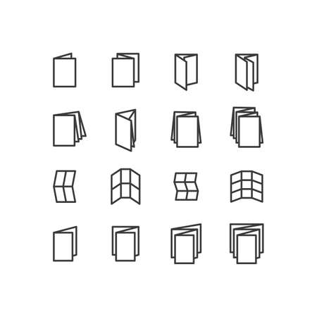 white matter: Printing icons. Paper icons. Printing Products icons. Design icons.