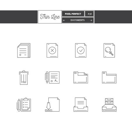 icono de línea delgada conjunto de los viajes de vacaciones de verano, vacaciones de verano, objetos y elementos de herramientas. iconos de la interfaz de viajes, mar, helados, mapa. iconos. Ilustración del vector. ilustración vectorial iconos