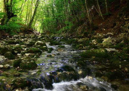Ukraine, Crimea, Grand Canyon. photo