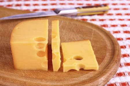 Cheese on a cutting board. Stock Photo - 17148472