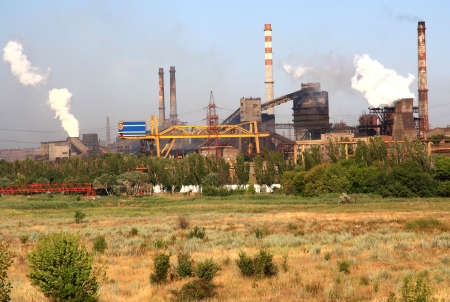 steel works: View of the Iron and Steel Works