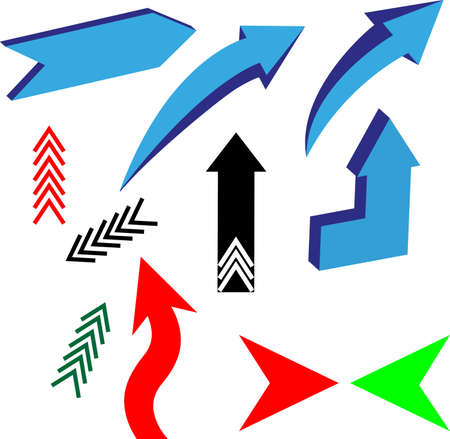 curving: arrows2 Illustration