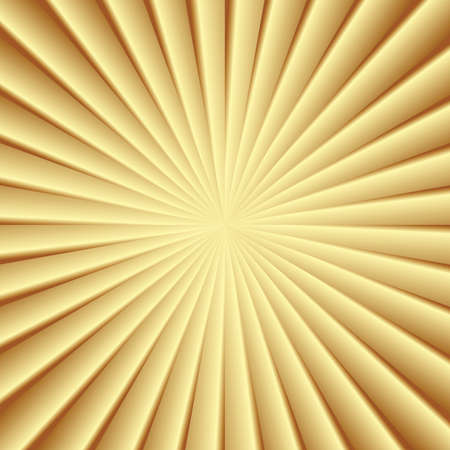 Abstraction golden rays Vector
