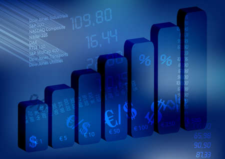 Business Wallpaper Stock Vector - 9484820