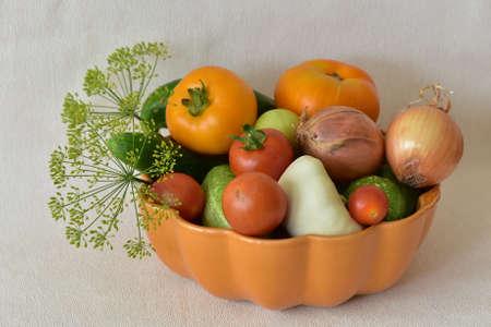 Autumn harvest. Vegetables.