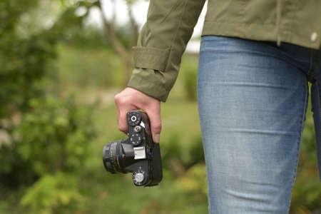 Walk with camera
