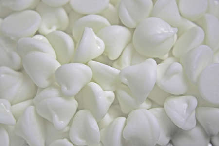 morsels: White Chocolate Morsels Stock Photo