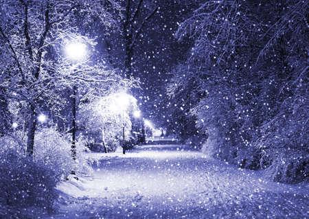 冬の路地 写真素材