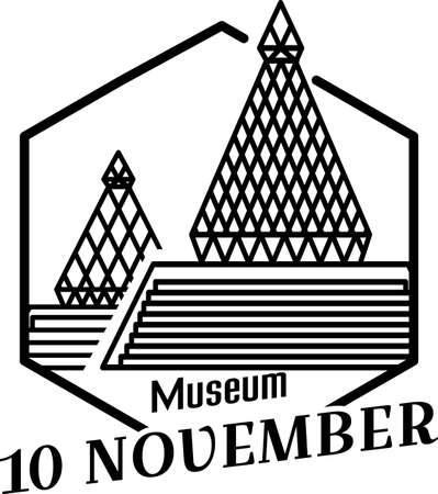 Museum illustration 10 november