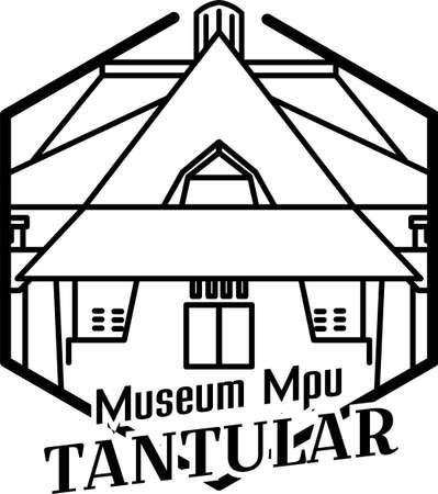 Illustration of Mpu Tantular museum in Surabaya
