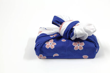 Japanese fabric gift boxes made ​​and very beautiful  photo