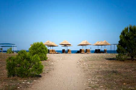 riviera: Beach at Cirali, the Turkish Riviera (Turkey)