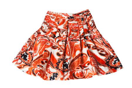 red ornament skirt