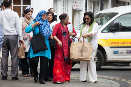 Indian women in london