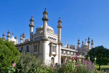Brighton, ENGLAND - JULY 12, 2016 Brighton Pavillion royal pavilion Brighton East Sussex Editorial