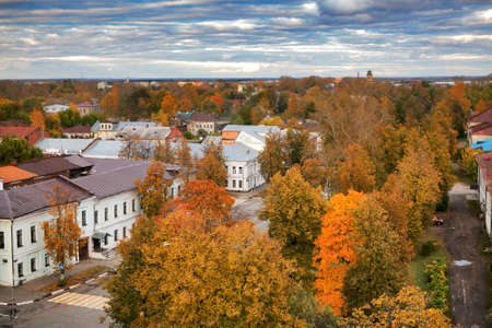 reverent: ROSTOV, Russia - 11 September 2017 , Kremlin of ancient town of Rostov Veliky.Russia. Golden Ring