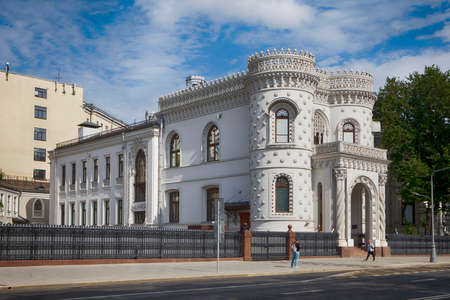 MOSCOW, RUSSIA - OCT 20, 2017: Arseny Morozov House (Now Government Reception House) in October
