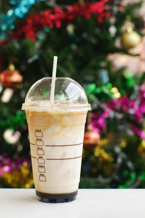Christmas Iced Coffee  photo