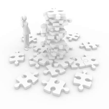 disorganization: Puzzle to complete
