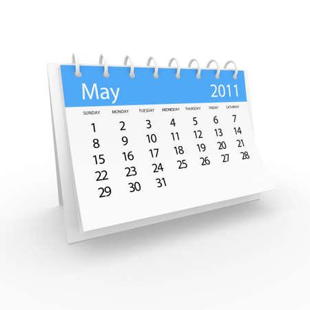 2011 may calendar  Stock Photo