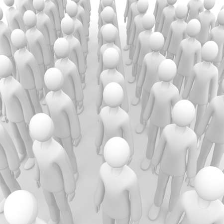overpopulation: Anonymous Crowd