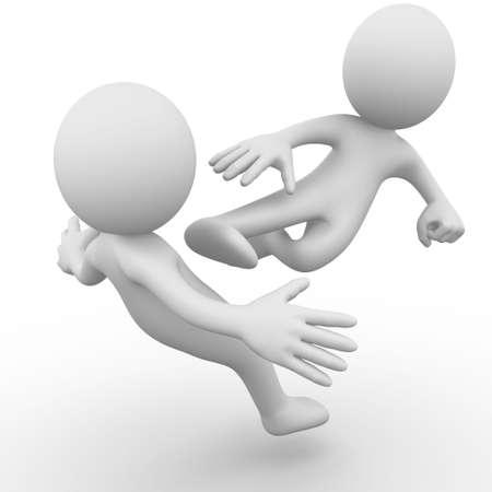 Fight between two men