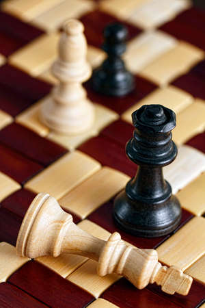 Queen defeats King in Chess