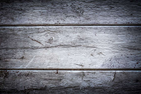 Old wooden background with grunge effect