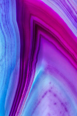 Abstract design of purple Geoid slice Stock Photo
