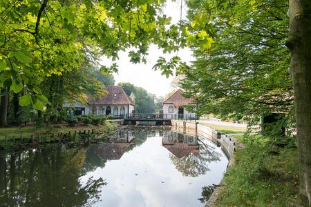 Historic water mill Den Helder in Winterswijk Stockfoto