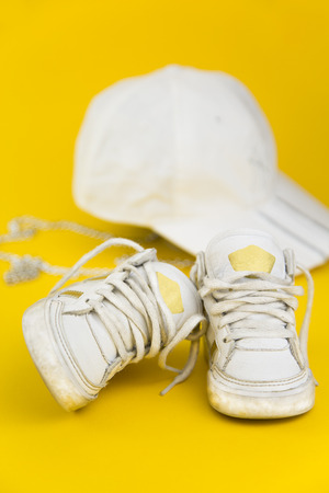 velcro: portrait of baby sneakers inspired by the hip hop style