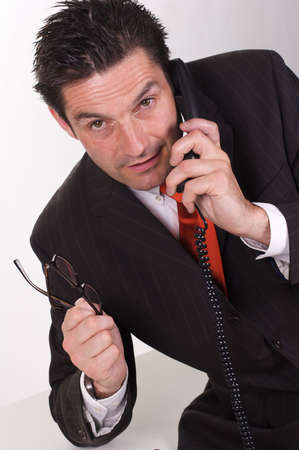 Business Man in Office Stock Photo - 3413766