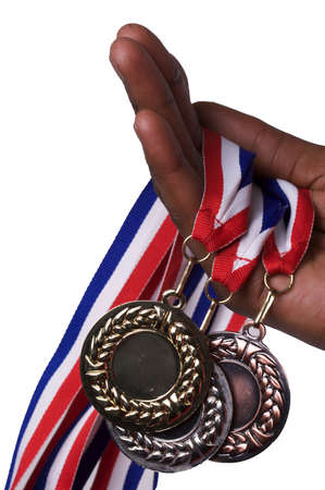 Olympic Medals Stock Photo - 4950211
