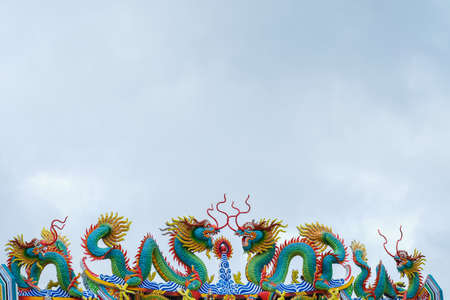 tabernacle: Chinese dragon on the shrine
