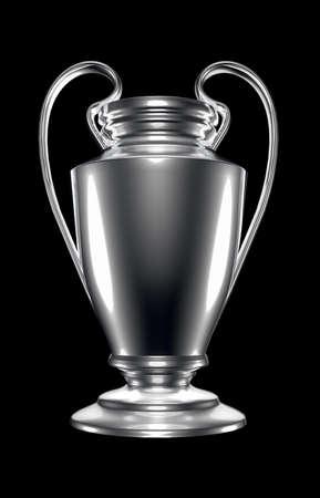 champions league: champions league cup Stock Photo