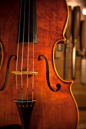 pochette: Handmade Violin