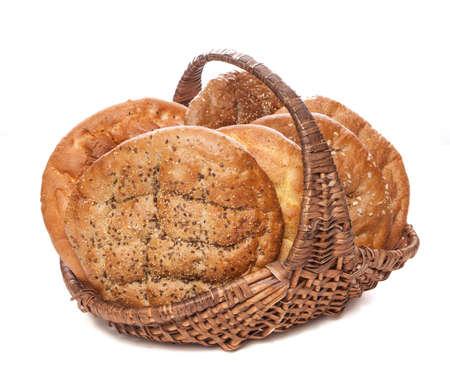 bread basket Stock Photo