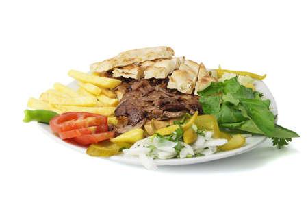 donner: Turkish cultural donner kebab  Stock Photo