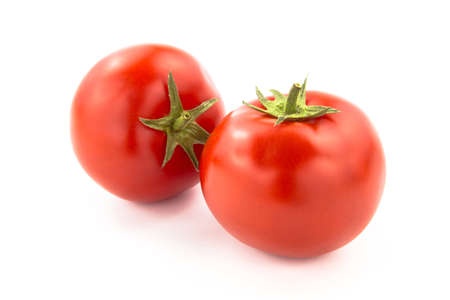 domates: Two Tomatoes - Clipping Path Inside