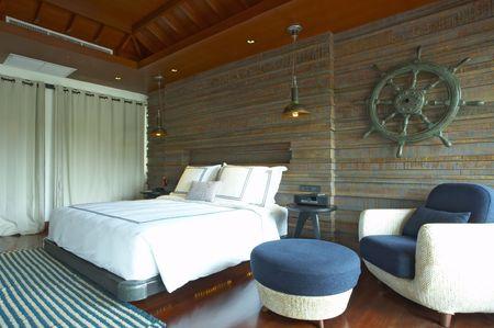 Panoramic view of nice light living room. Stock Photo - 3289418