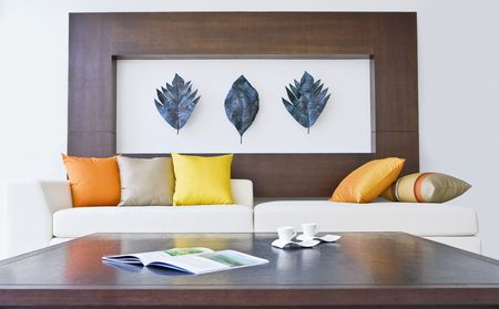 Fragment like view of modern style interior Stock Photo - 5833861