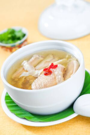 close up view of nice fresh meal on yellow back Stock Photo - 13697014