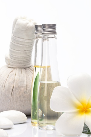 view of spa theme object on white background Stock Photo - 13697082
