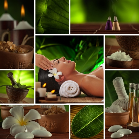essential oil: Spa theme