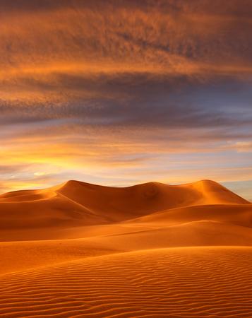 Blick auf schöne Sand Dünen im Sands-Dünen-Nationalpark