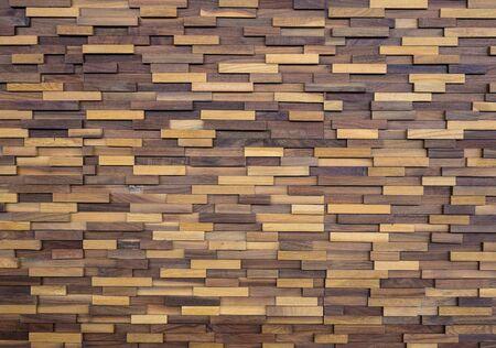 Wooden wall pattern background Stockfoto