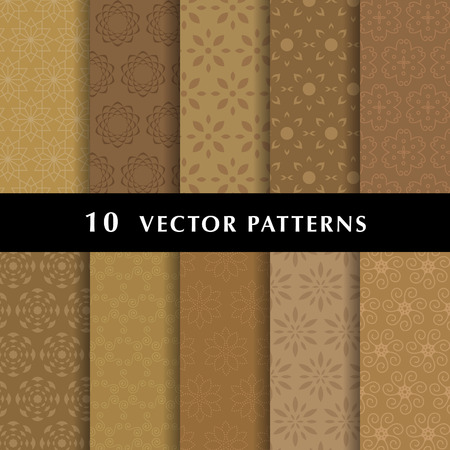 Elegant vector patterns pack Vector