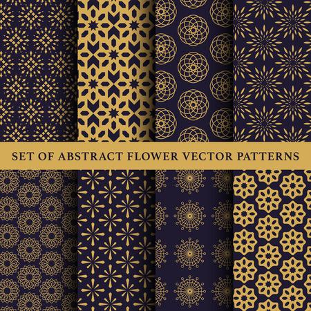 Set of abstract symbol vector pattern Stock Illustratie