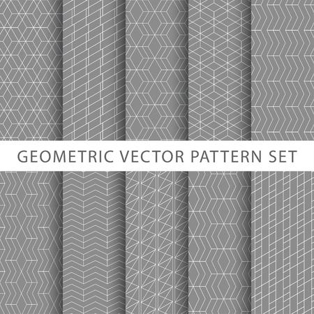 zestaw geometryczny wzór wektora