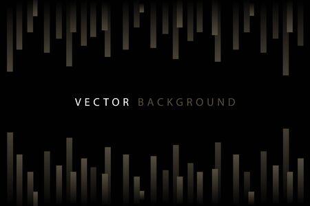 Abstract golden dynamic vector pattern Illustration